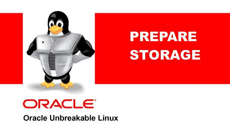 RAC lab Part 8 – OEL 7.x prepare storage